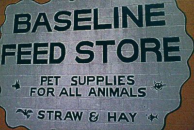 Come 'n' get yer hay at 8 Mile Road!