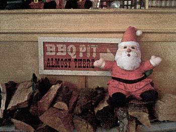 BBQ Santa.