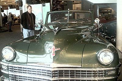 A rich man's car.